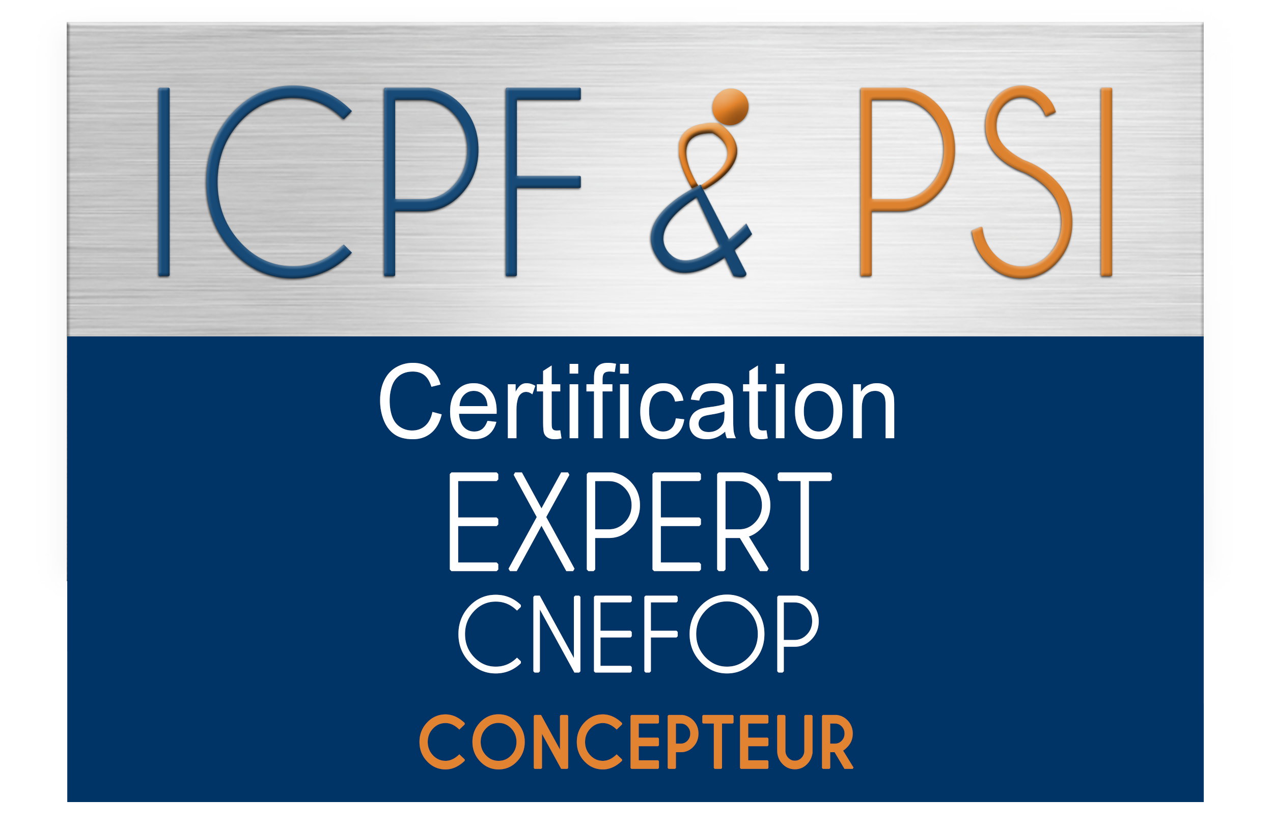 Expert CNEFOP ICPF & PSI