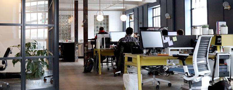 espace de coworking moderne