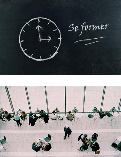se former à la gestion du temps, tableau